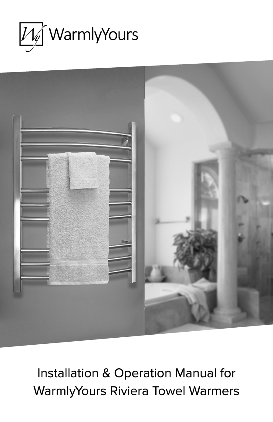 Riviera towel warmer install manual o