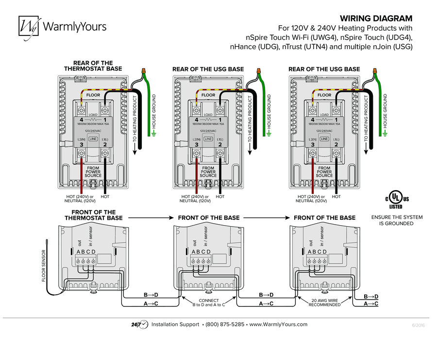 Radiant Floor Heat Wiring Diagram Radiant Wiring Diagram