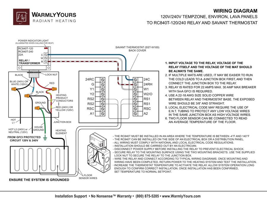 savant integration wiring diagram and instructions