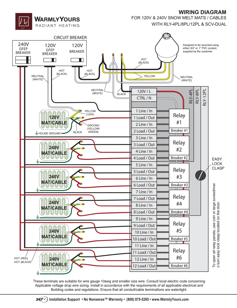 7 Line Wiring Diagram