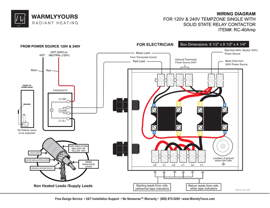 "single relay wd 10115 a rc 40amp relay wiring diagram rc 40amp relay wiring diagram tempzoneâ""¢ single"