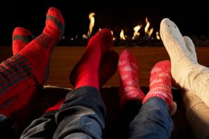 Keep your feet warm and cozy this winter with radiant heat.