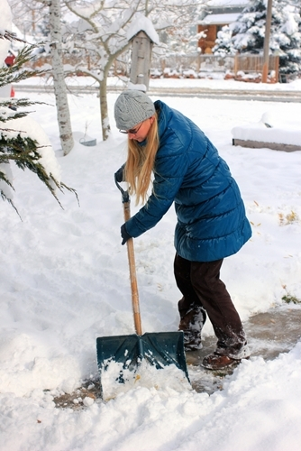 Residents and business owners in some cities and towns are required by law to shovel snow and clear ice