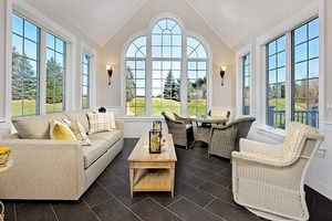 TempZone floor heating turns a sunroom into a four seasons room.