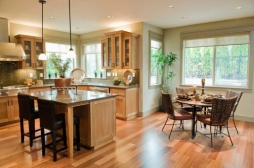 Enhancing the lifetime and utility of your new kitchen hardwood floors.