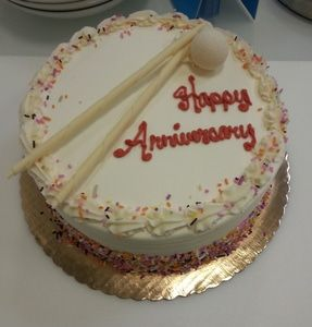 Monthly Anniversary Cake Celebration at WarmlyYours