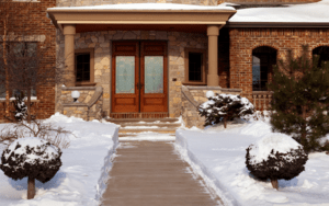 Investing in snow-melting systems can eliminate the time you spend shoveling and plowing.