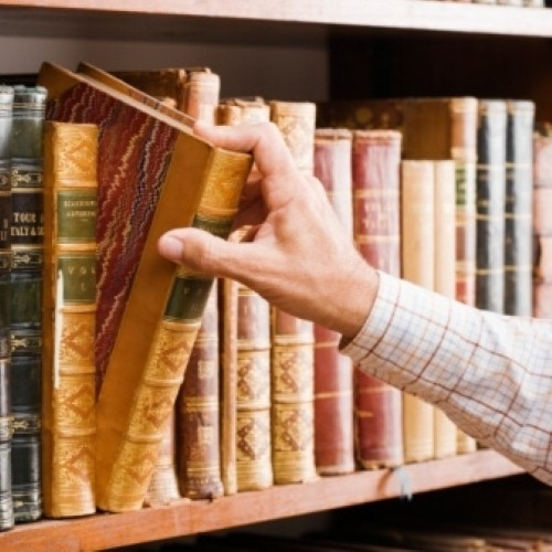 Four steps toward creating your own home library