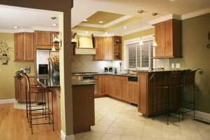kitchens with radiant heat