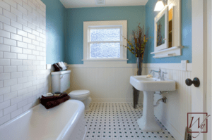 Small bathrooms can make a big impact with heated floors