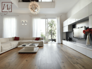 Radiant heat is an affordable way to warm up a living room.