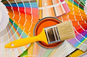 Choosing colors from a wide palette until you find the best fit for your remodel