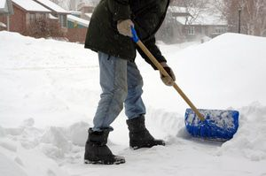 Snow-melting systems eliminate the need for shoveling driveways.