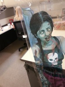 Halloween cubicle decorating contest heats up at WarmlyYours