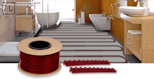 TempZone Cable is flexible enough for installation in odd-shaped rooms.