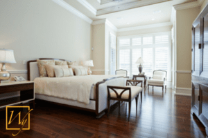 Radiant heated floors allow you to have warm, beautiful hardwood floors.