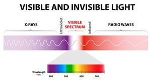 Far infrared light cannot be seen by the human eye.