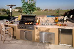 outdoor kitchens and other home trends
