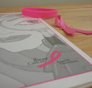 Think Pink - the bracelets, ribbons, and literature to raise awareness for breast cancer research