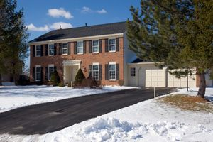 The life of asphalt driveways can be extended with snow melting systems