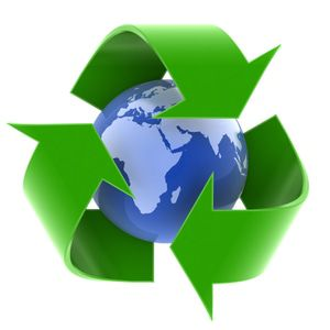 Radiate Consciousness and Sustainability by recycling.