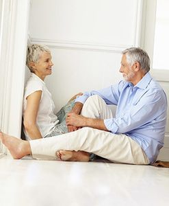 Radiant floor heating--comfort you can enjoy at any age.