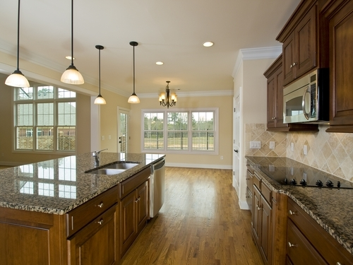 A warm floor can make any kitchen more comfortable