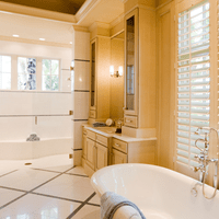 Beautifully remodeled master bathroom
