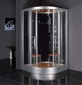 Steam showers bring the comfort of a full-service sauna inside your home.