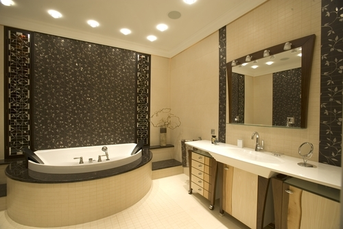 Bringing luxury into the bathroom is expected to remain on-trend in the years ahead