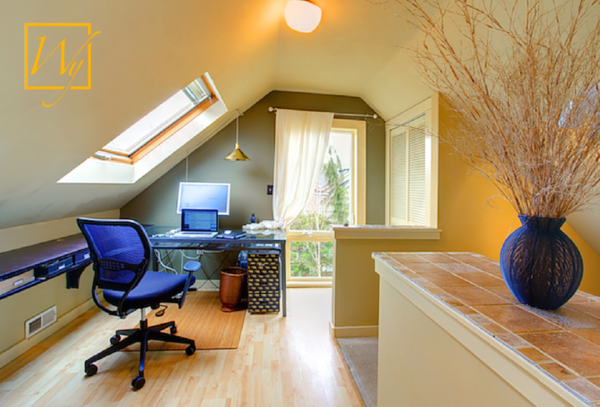 Radiant Heat Creates a Cozy Home Office Retreat